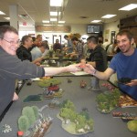 Doubles Tournament, January 12, 2013 at the Battle Standard